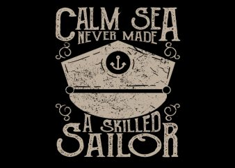 Sailor Club Vector T-Shirt Design