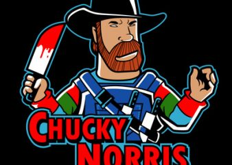 CHUCKY NORRIS buy t shirt design