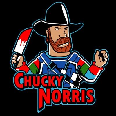 CHUCKY NORRIS buy t shirt design
