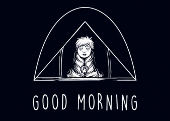 GOOD MORNING T-SHIRT DESIGN buy t shirt design