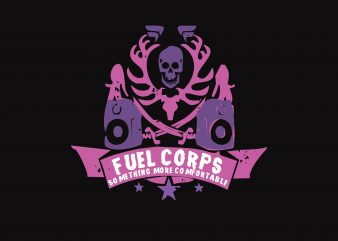 Fuel Corps buy t shirt design