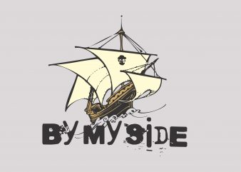 By My Side buy t shirt design