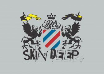 Skin Deep buy t shirt design