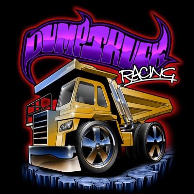 DUMP TRUCK t shirt vector illustration