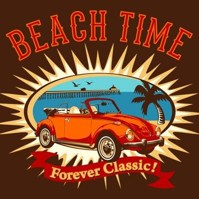 FOREVER CLASSIC t shirt graphic design