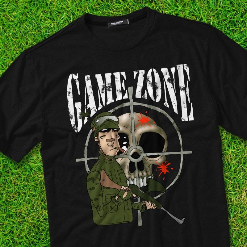 GAME ZONE buy t shirt design