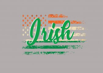 Irish t shirt design for sale