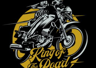 KING OF THE ROAD buy t shirt design