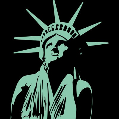 MISS LIBERTY t shirt designs for sale