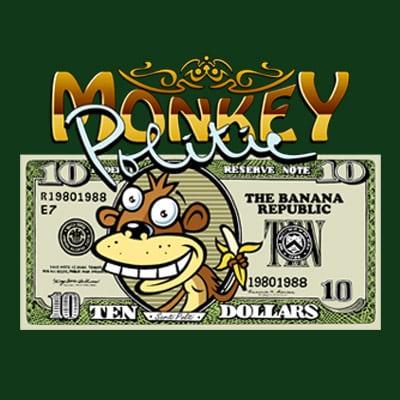 MONKEY POLITIC t shirt designs for sale