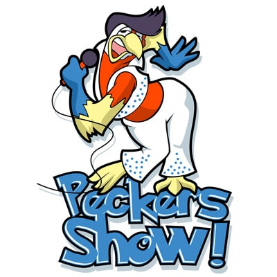 PECKERS SHOW t shirt illustration