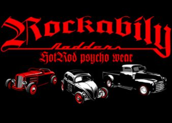 ROCKABILLY buy t shirt design