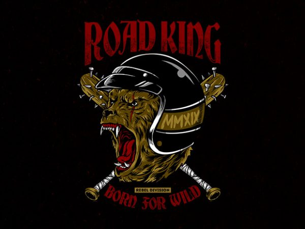 road king Graphic t-shirt design buy t shirt design
