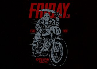 friday co Graphic t-shirt design buy t shirt design
