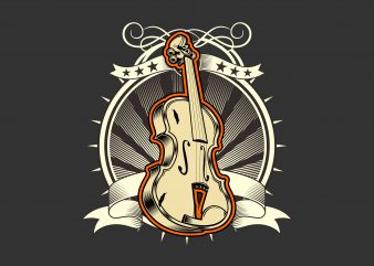 The Classical Music Violin buy t shirt design