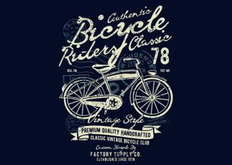 Bicycle t shirt template