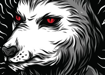 Psycho Beast T-Shirt Design buy t shirt design