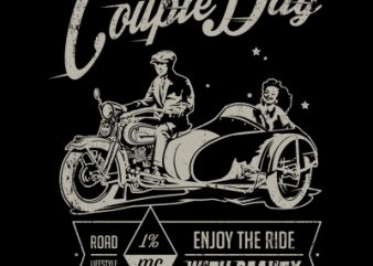 Couple Day t shirt vector file
