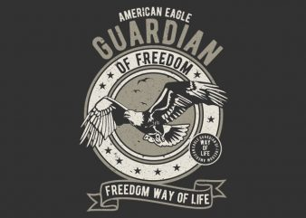 Guardian Eagle buy t shirt design