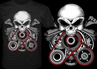 Inside Engine t shirt template