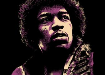 HENDRIX graphic t shirt