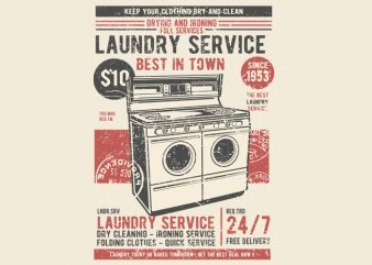 Laundry Service buy t shirt design