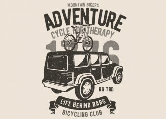 Mountain Bikers Adventure buy t shirt design