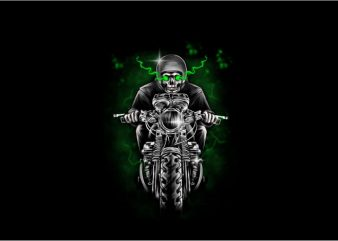 Phantom Rider t shirt illustration