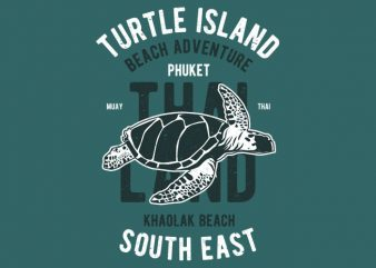 Turtle Island buy t shirt design