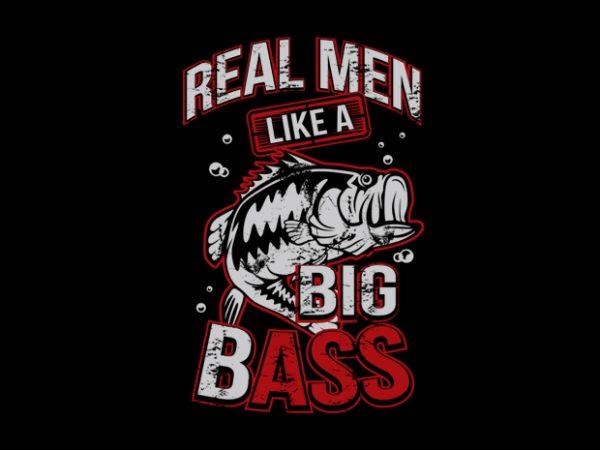 Bass t shirt template