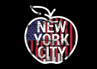 big apple Vector t-shirt design t shirt template