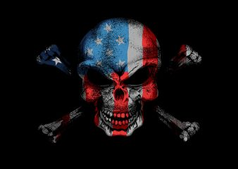 American Brother Hood t shirt vector
