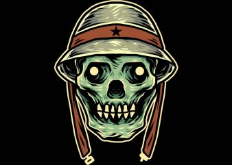 skull army tshirt design buy t shirt design