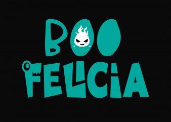 Boo Felicia t shirt template