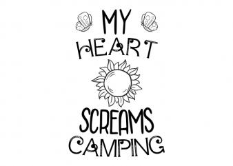 camping t shirt design buy t shirt design