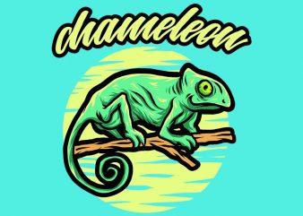 chameleon tshirt design buy t shirt design