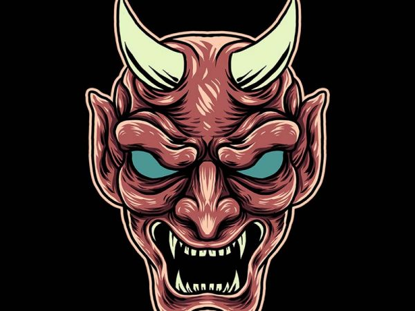the devil tshirt design