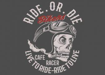 bikers t shirt template
