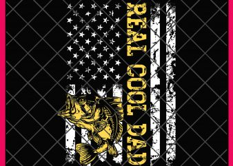 Fishing Reel Cool Dad America Flag Fish 4th of July PNG design T shirt