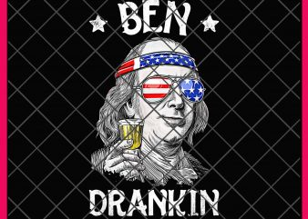 Ben Drankin 4th of July Vintage Funny Design PNG T shirt Gifts – Benjamin Franklin Drinking digital download