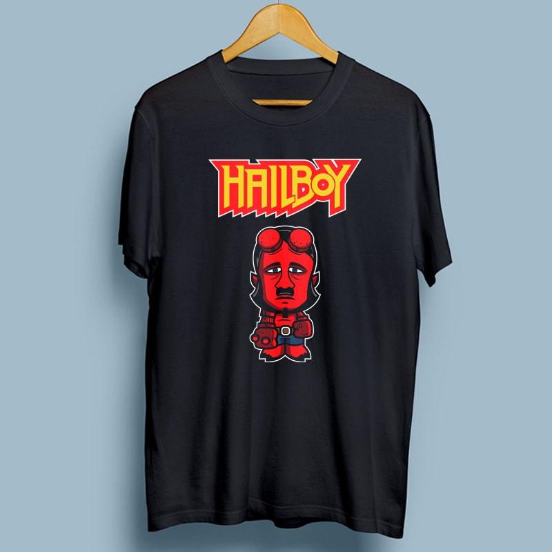 HAILBOY buy t shirt design
