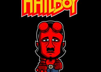 HAILBOY graphic t shirt
