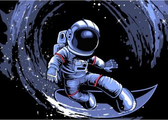 Surfing in space buy t shirt design
