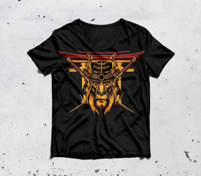 The Last Lion Samurai buy t shirt design