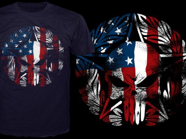 America's corp t shirt vector