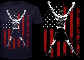 America's Greatness t shirt vector