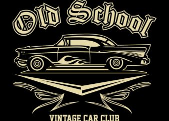 OLD SCHOOL t shirt design online