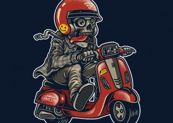 scooter never die buy t shirt design