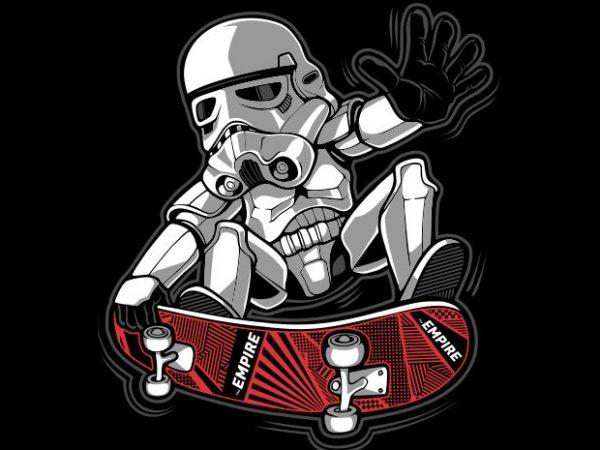 Trooper Trick t shirt designs for sale