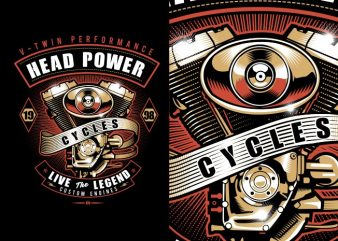 Head Power graphic t shirt